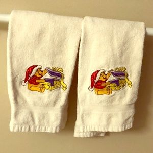 Other - Winnie the Pooh Christmas Towels